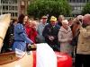 Das Käthchen von Heilbronn tauft Nachbau des Segelflugpioniers Hans Jacobs, Heilbronn - Deutschland