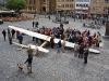 Das Käthchen von Heilbronn tauft Nachbau des Segelflugpioniers Hans Jacobs, Heilbronn - Deutschland >2<