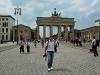 Touristentrubel am Brandenburger Tor in Berlin - Deutschland