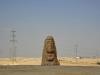 Statue in der Negev Wüste - Israel
