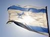 Flagge Israels mit Davidstern